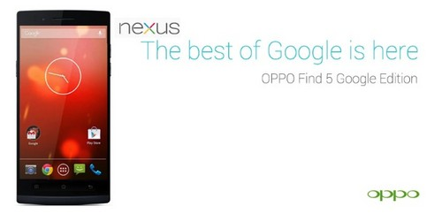 OPPO5 google Android 1